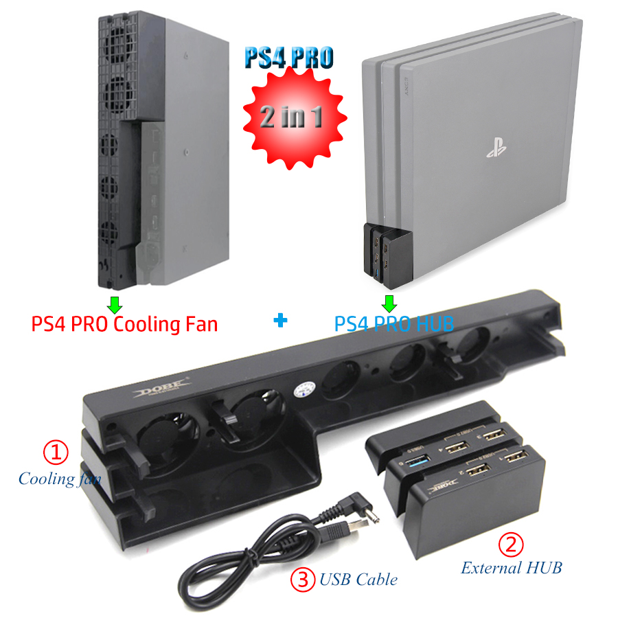 ps4 pro cooling fan review