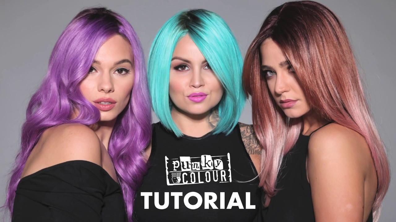 punky colour hair dye review