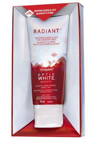 radiant colgate optic white reviews