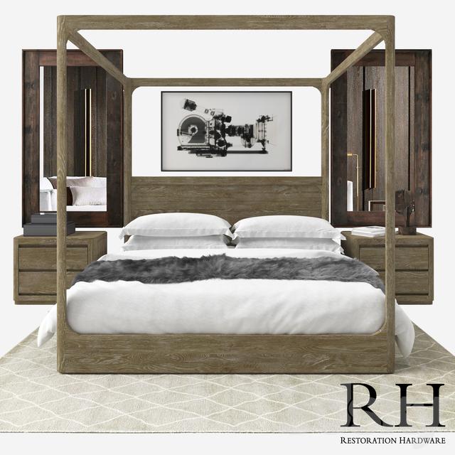 restoration hardware adler bed reviews