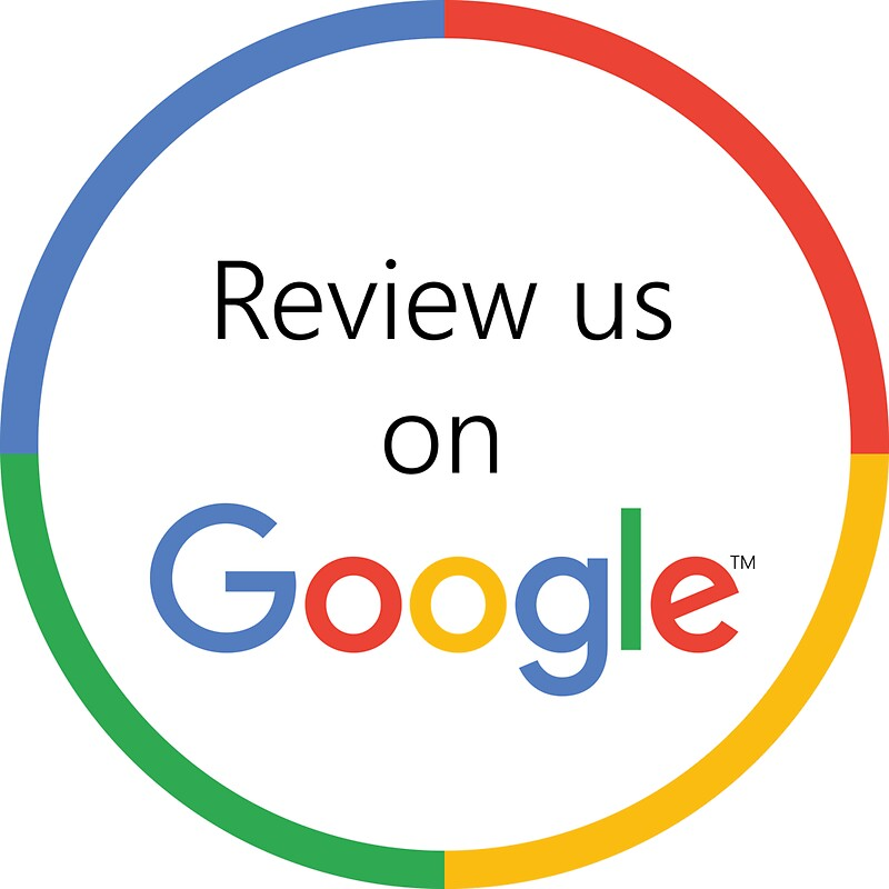 review us on google decal