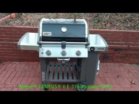 review weber genesis ii e 310