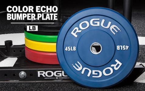 rogue echo bumper plates review