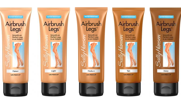 sally hansen airbrush legs lotion review
