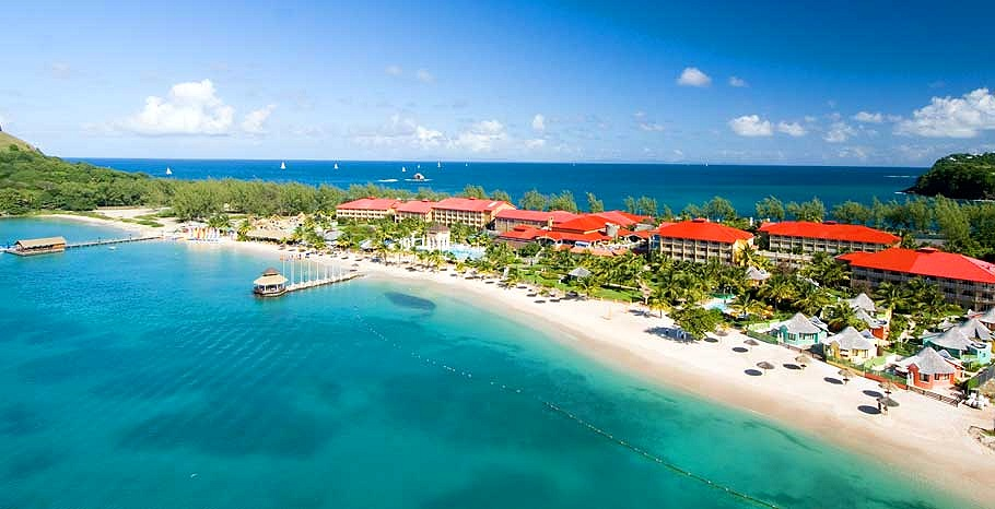 sandals resort st lucia reviews