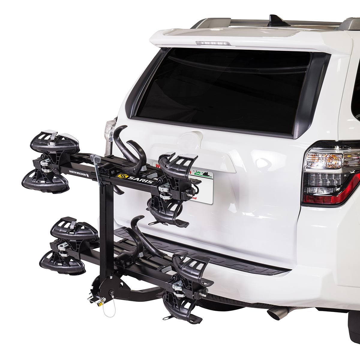 saris 4 bike hitch rack review