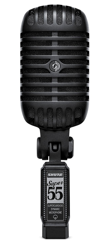 shure super 55 deluxe vocal microphone review