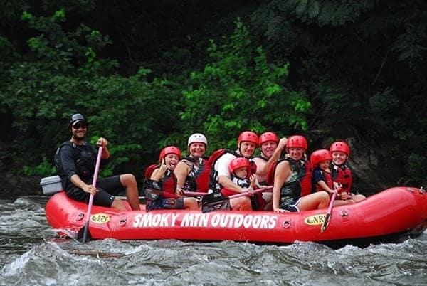 smoky mountain white water rafting reviews