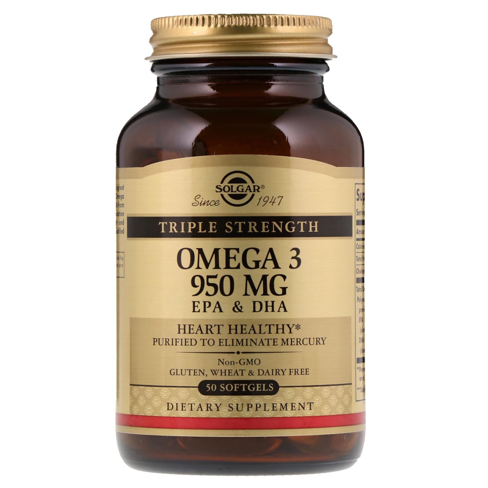 solgar omega 3 950 review