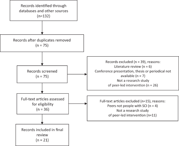 spinal cord injury review article