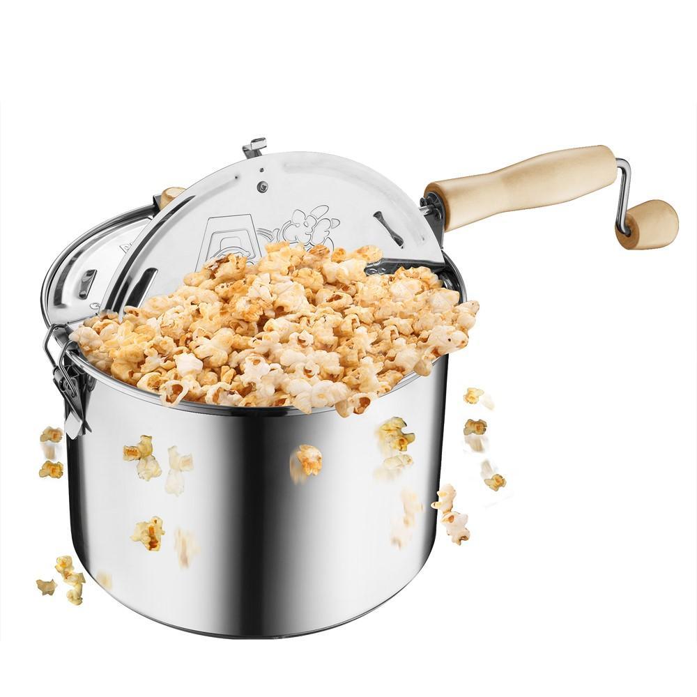 stainless steel popcorn popper reviews