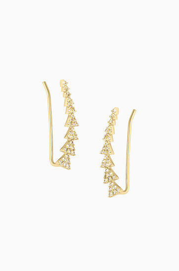 stella and dot ear climbers review