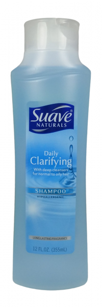 suave naturals daily clarifying shampoo reviews