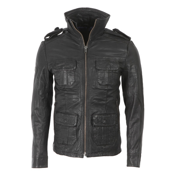 superdry brad leather jacket review