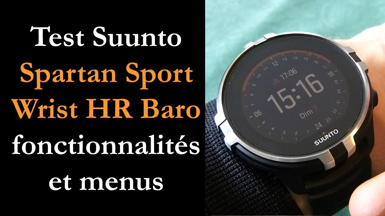 suunto spartan sport wrist hr baro review