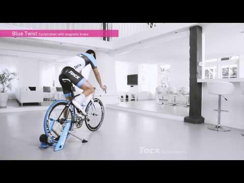 tacx blue twist bike trainer review