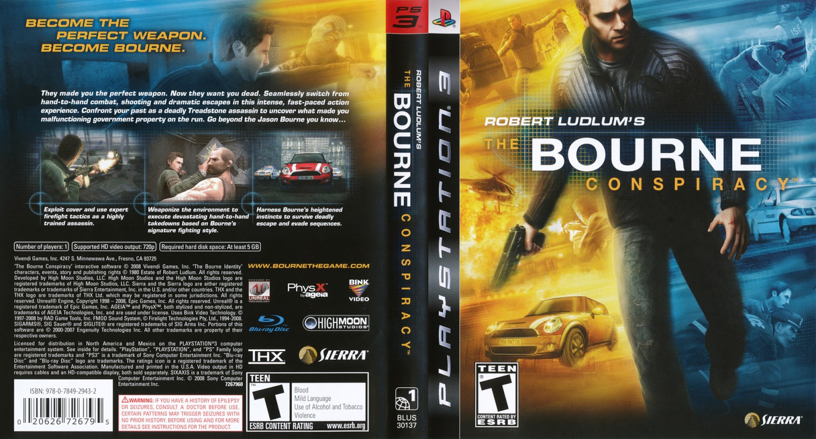 the bourne conspiracy ps3 review
