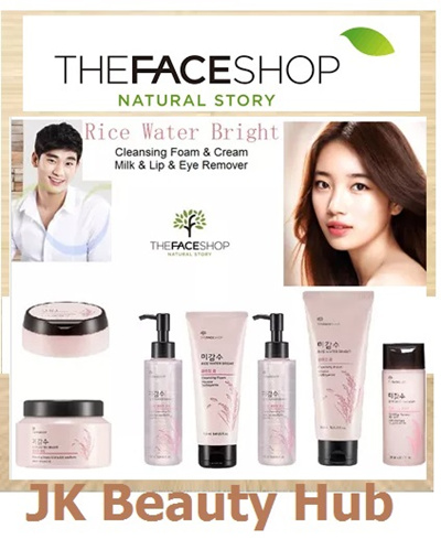 the face shop cleansing water review
