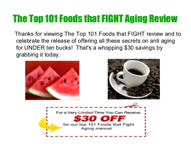 the top 101 foods that fight aging book reviews