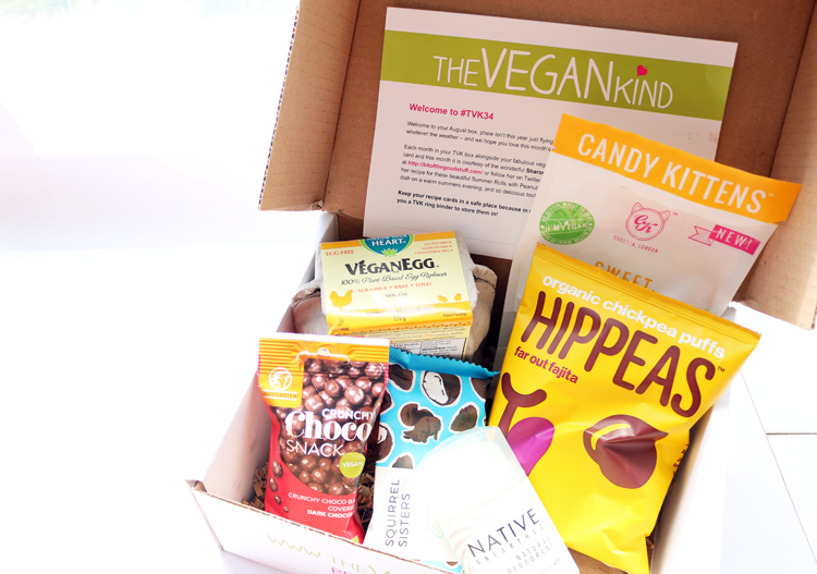 the vegan kind box review