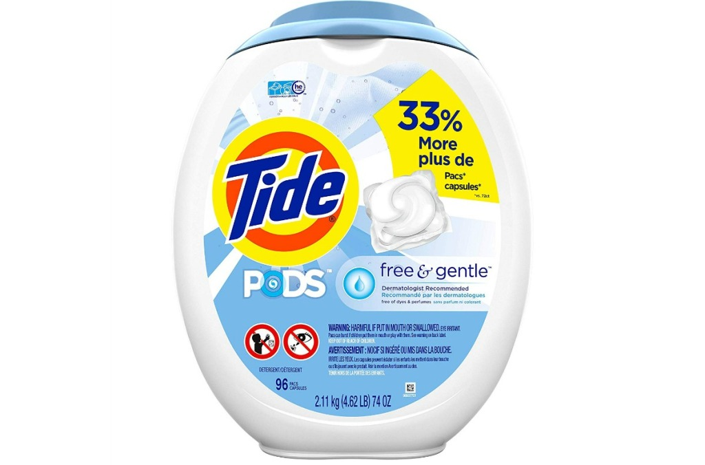 tide free and gentle pods review