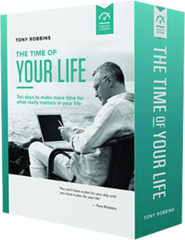 tony robbins time of your life review