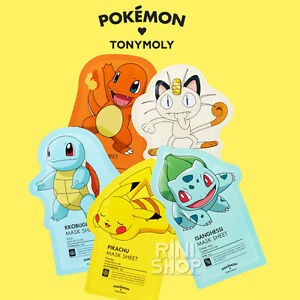 tonymoly pokemon sheet mask review