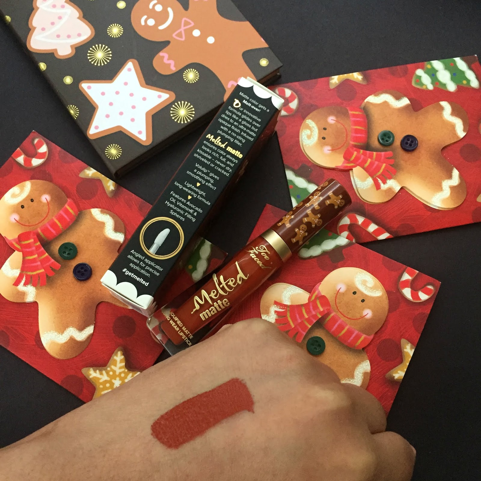 too faced gingerbread man review