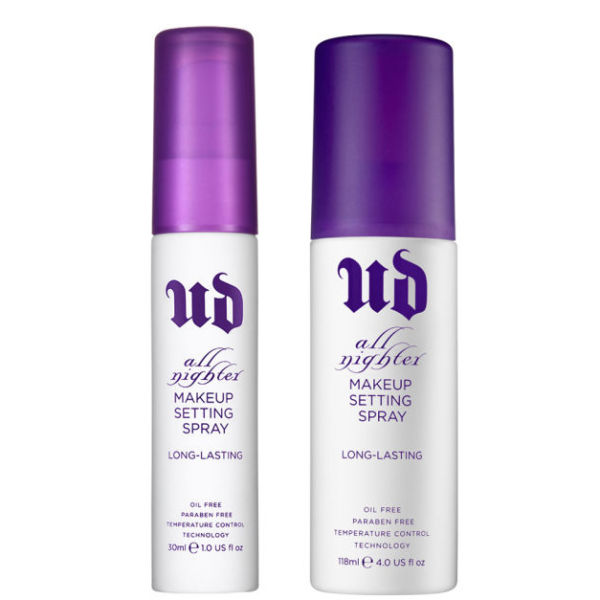 ud all nighter makeup setting spray review