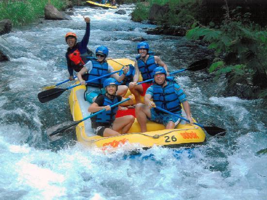 white water rafting bali review