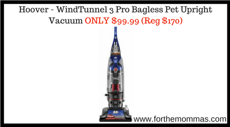 windtunnel 3 pro pet bagless upright reviews