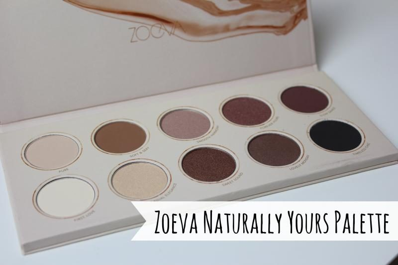 zoeva naturally yours palette review